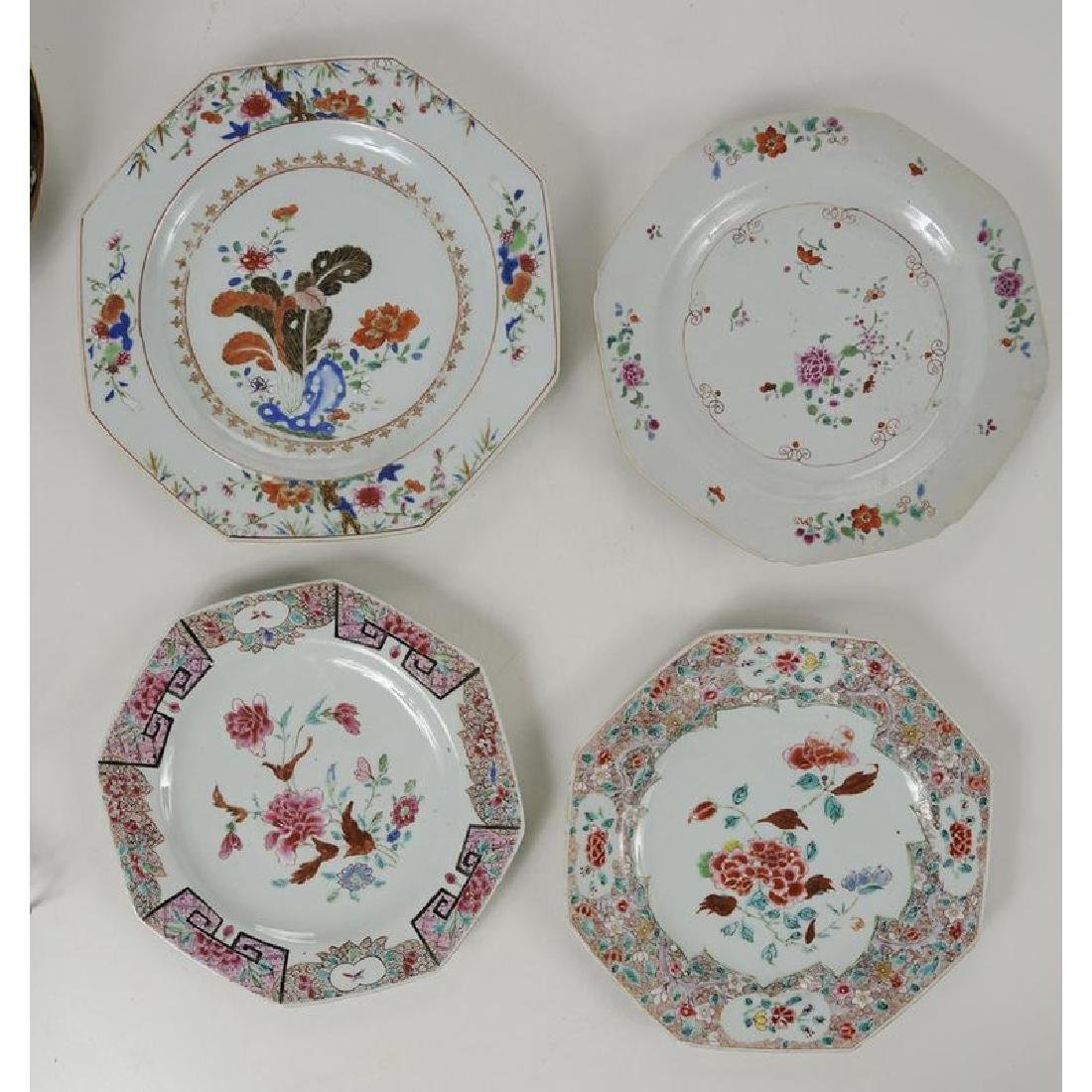 Group of 18 Assorted Chinese Export Plates - 2