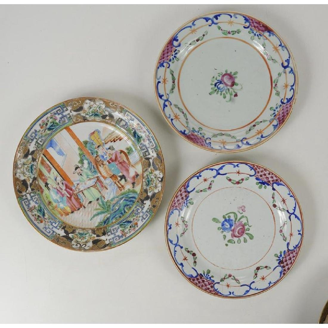 Group of 18 Assorted Chinese Export Plates - 3