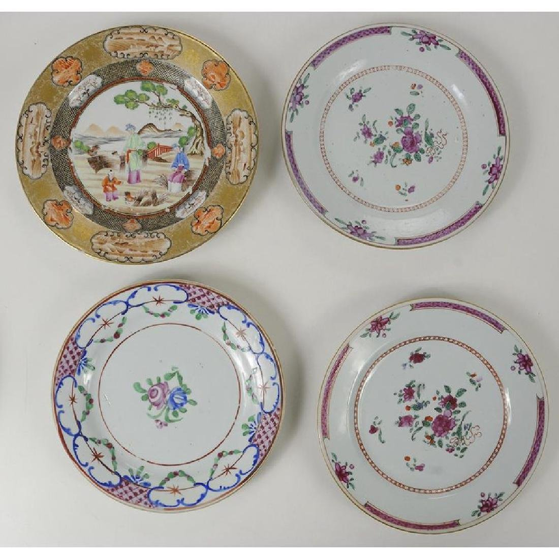Group of 18 Assorted Chinese Export Plates - 4