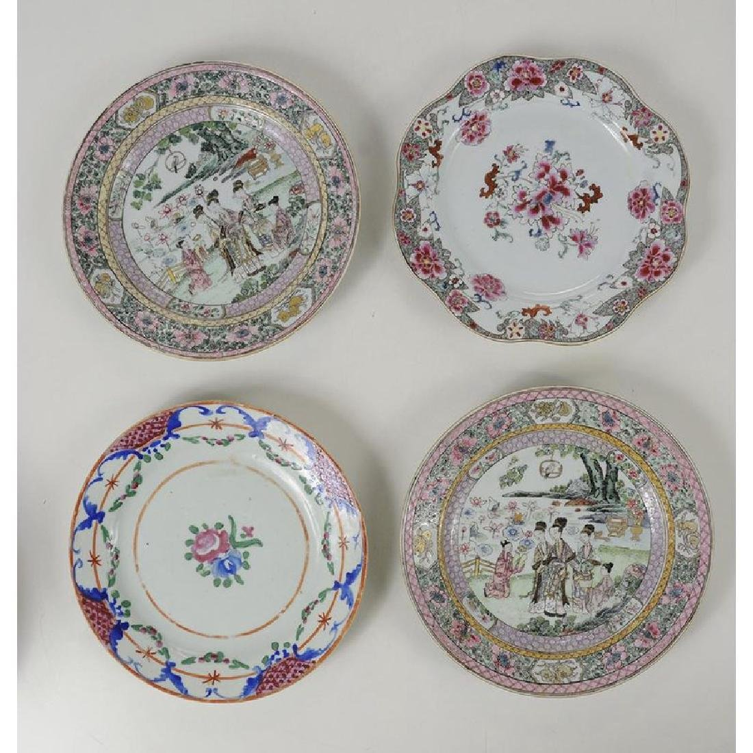 Group of 18 Assorted Chinese Export Plates - 5