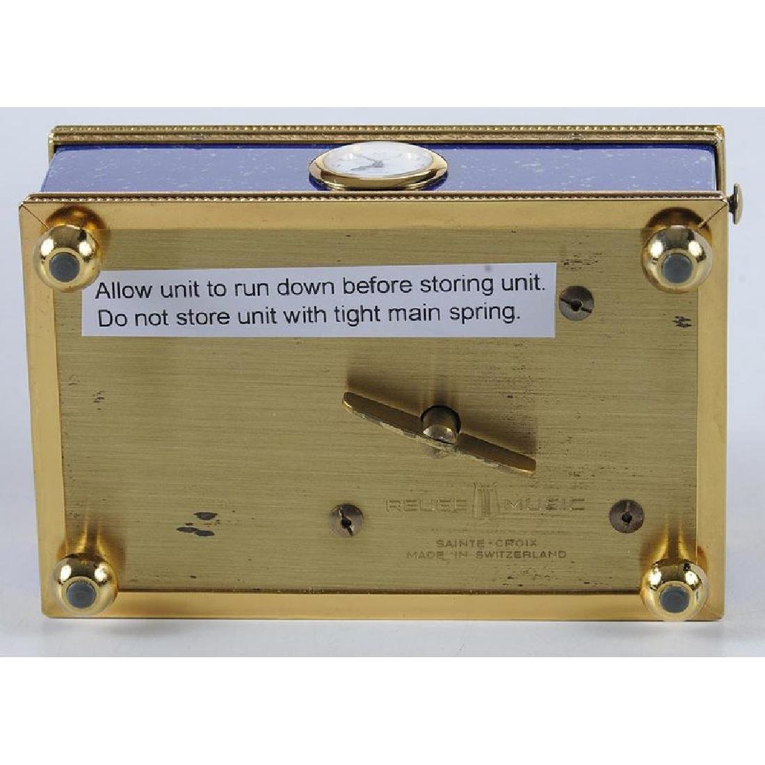 Reuge Automaton Singing Bird Box - 7