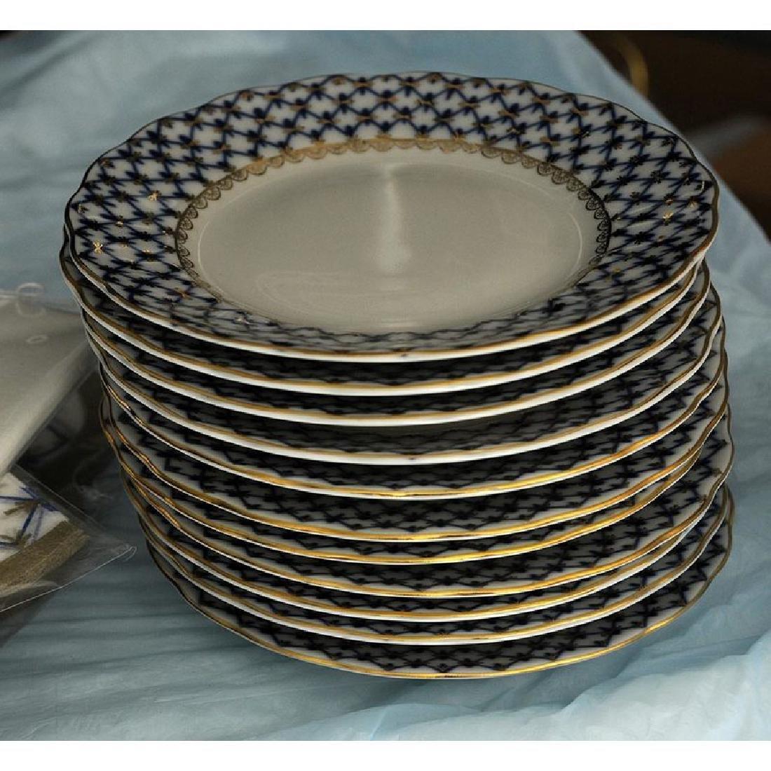 40 Piece Lomonosov Porcelain Tea Set - 6