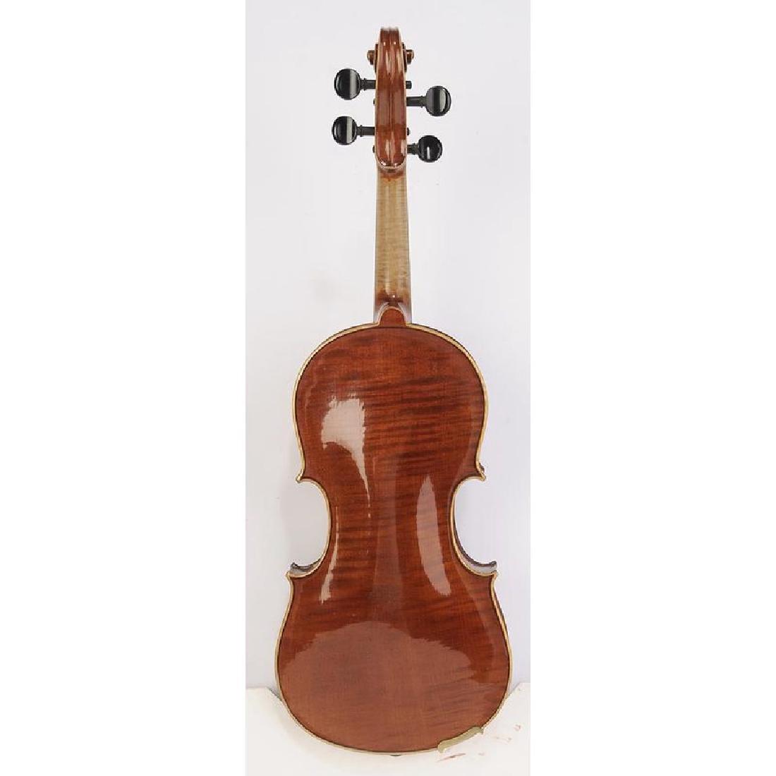 Three Vintage Violins in Cases - 10