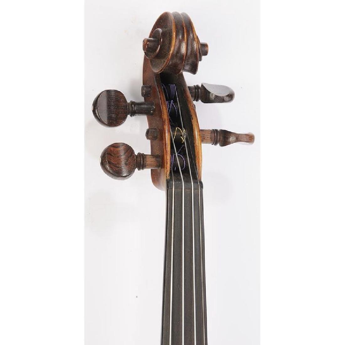 Three Vintage Violins in Cases - 3