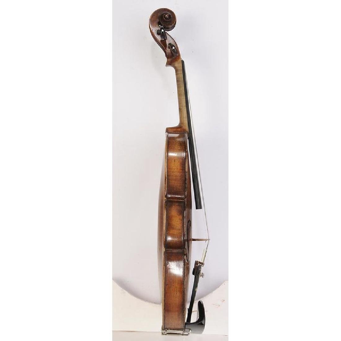 Three Vintage Violins in Cases - 4