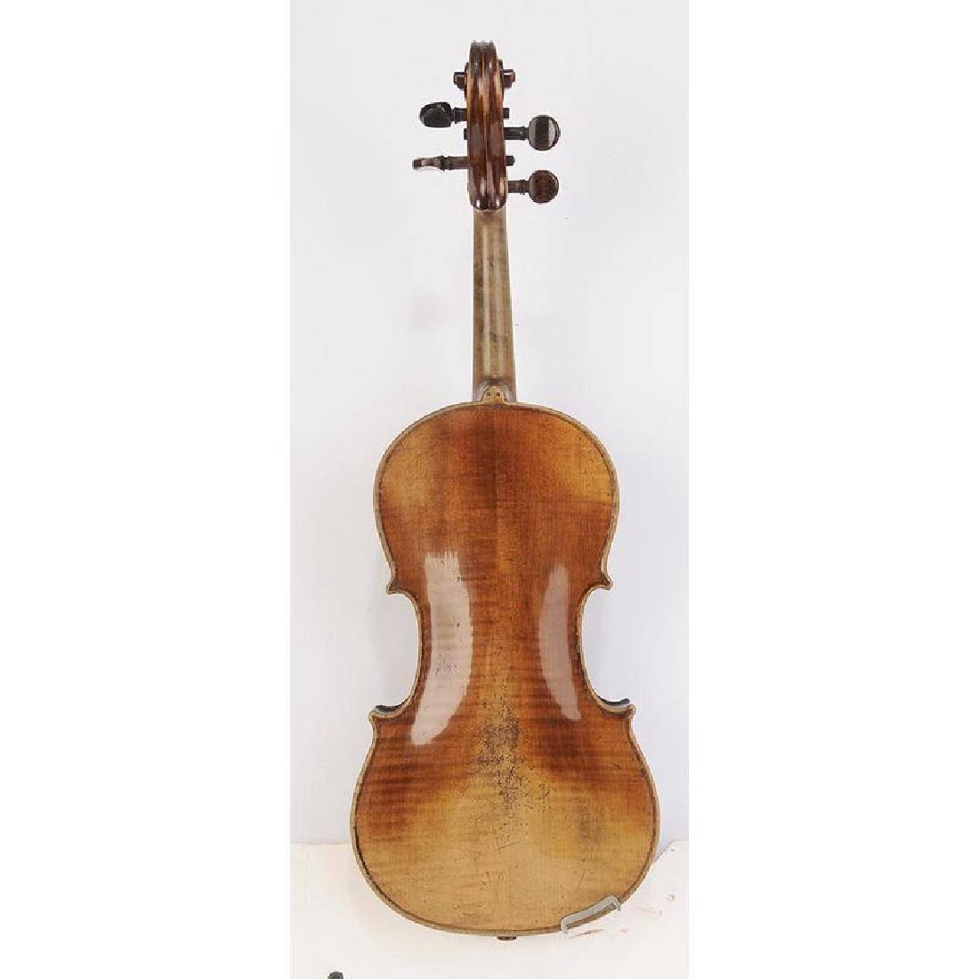Three Vintage Violins in Cases - 5