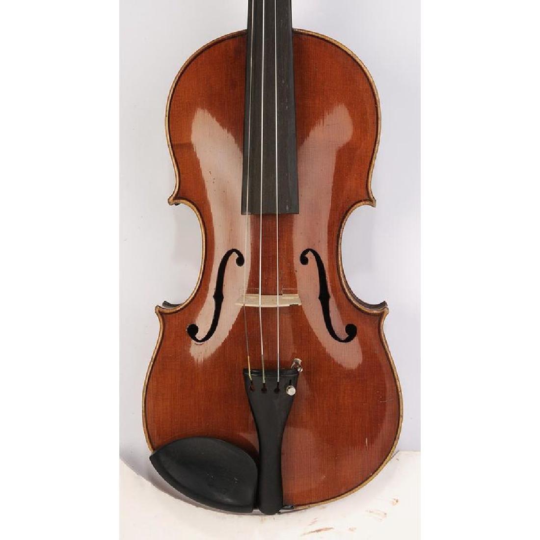 Three Vintage Violins in Cases - 7