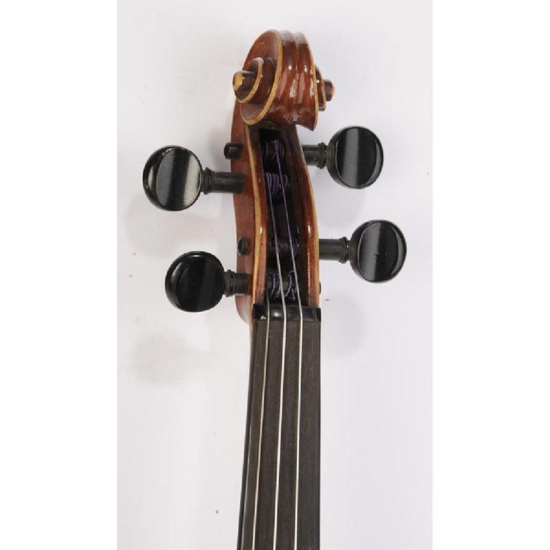 Three Vintage Violins in Cases - 8