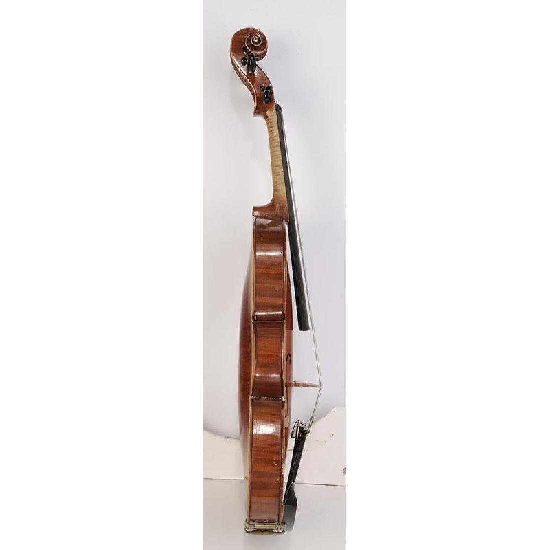 Three Vintage Violins in Cases - 9
