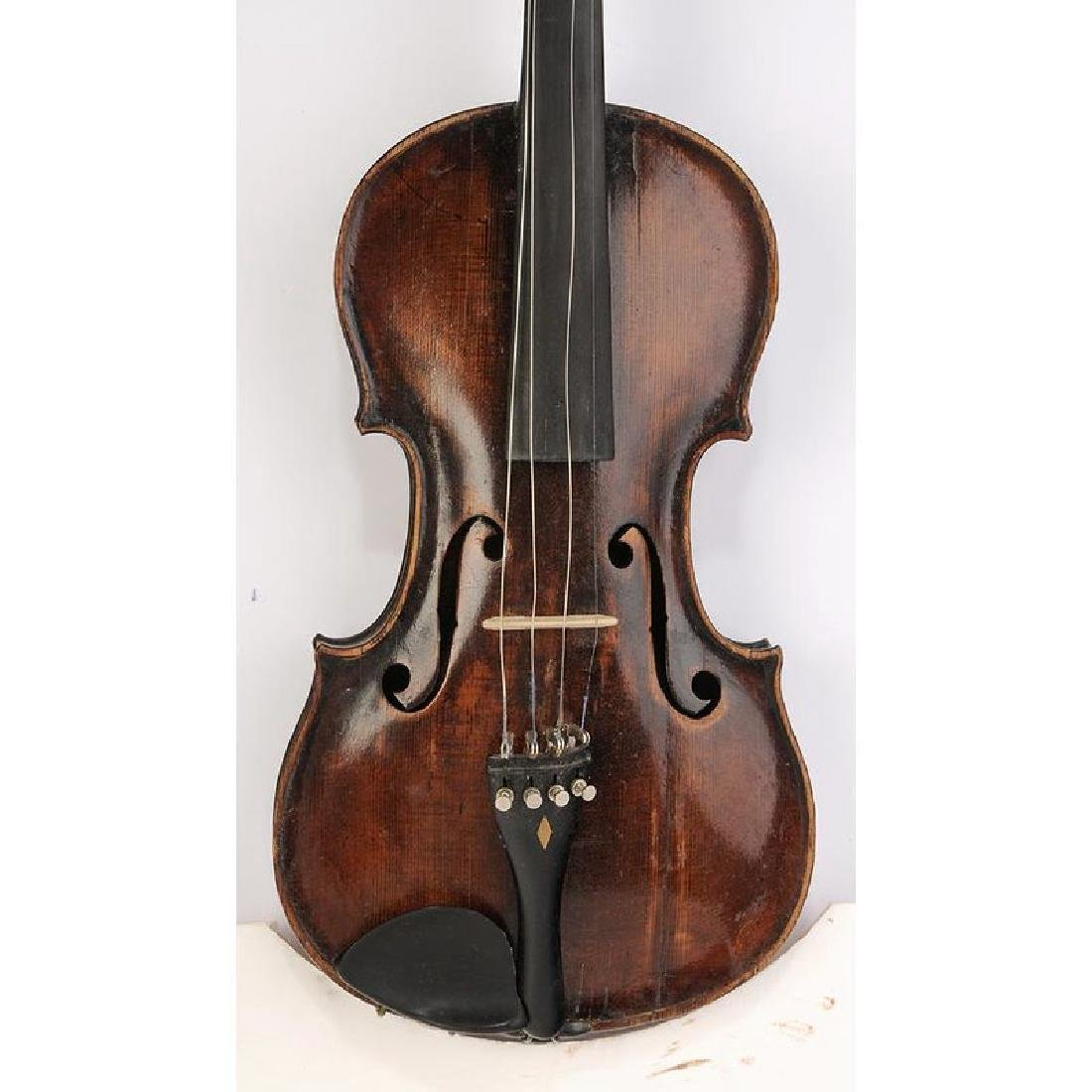 Two Vintage Violins in Cases - 6