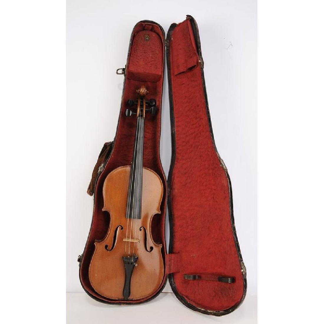 Two Violins in Cases - 7