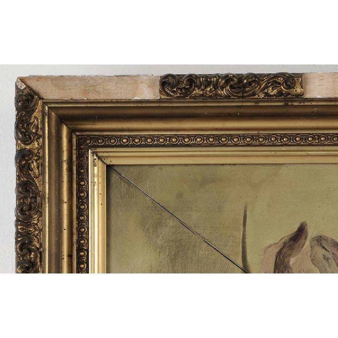 Aesthetic Movement Paint Decorated Mirror - 2
