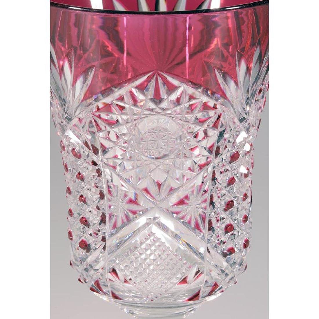 Brilliant Period Cut Glass Chalice - 2