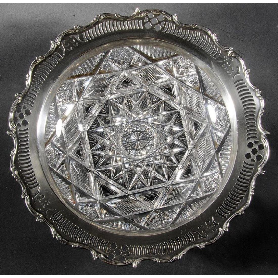 Hoare Brilliant Period Cut Glass Bowl - 2