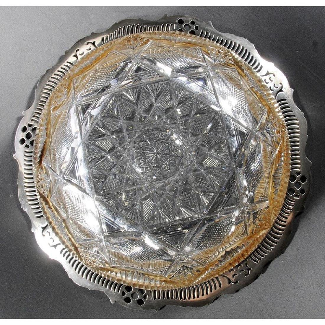 Hoare Brilliant Period Cut Glass Bowl - 4