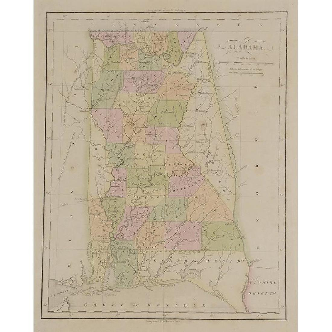 Four 19th Century Southern Atlas Maps - 9