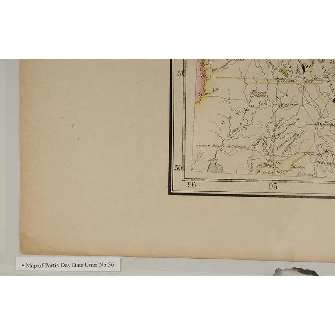 Two 19th Century Maps of Mississippi - 4