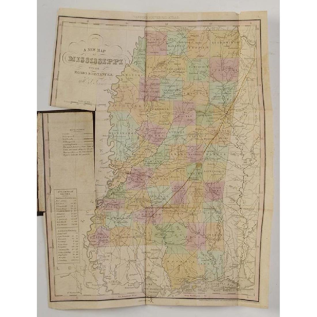 Two 19th Century Maps of Mississippi - 8