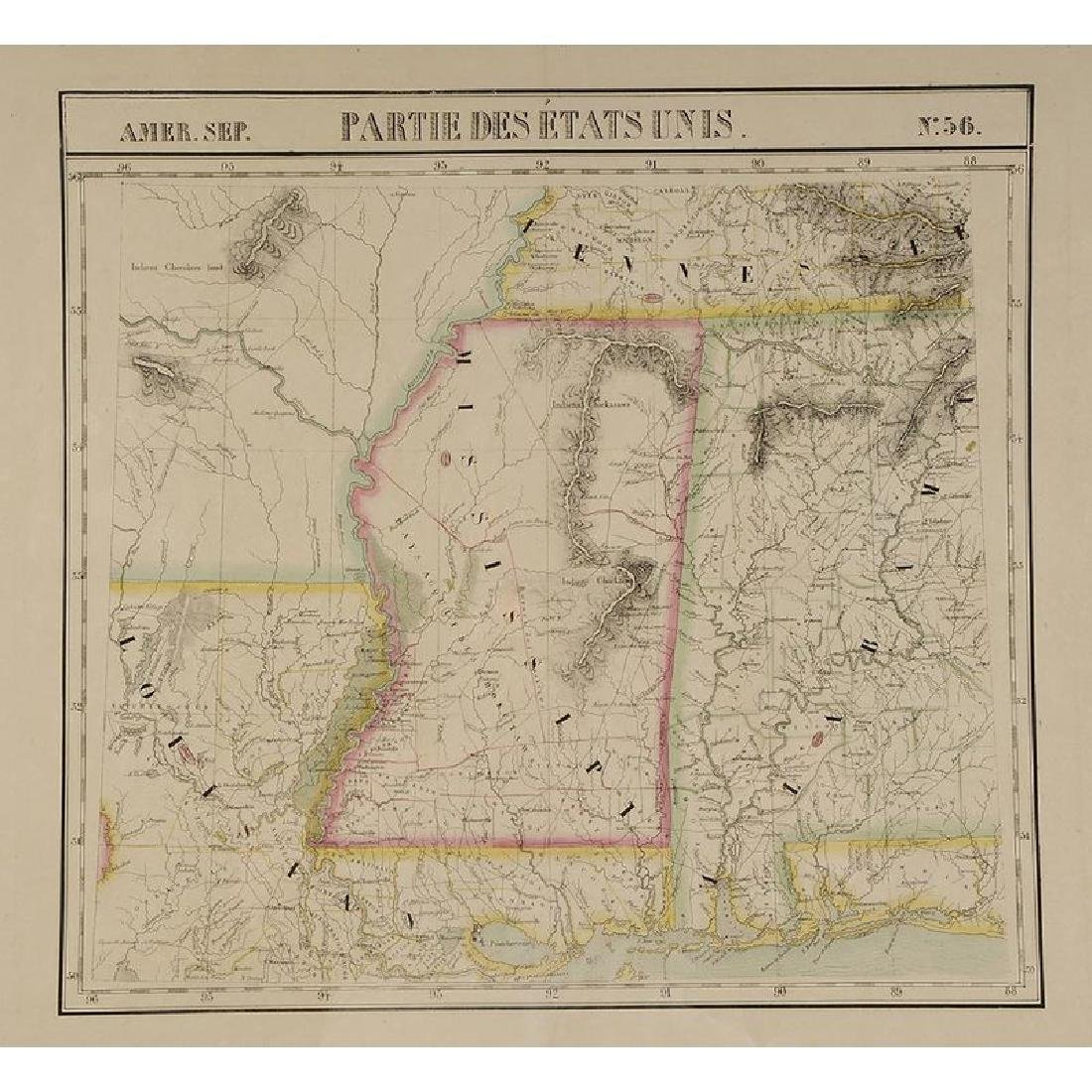 Two 19th Century Maps of Mississippi - 9