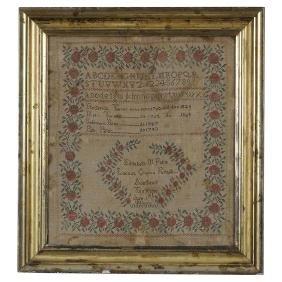 1831 Tennessee Needlework