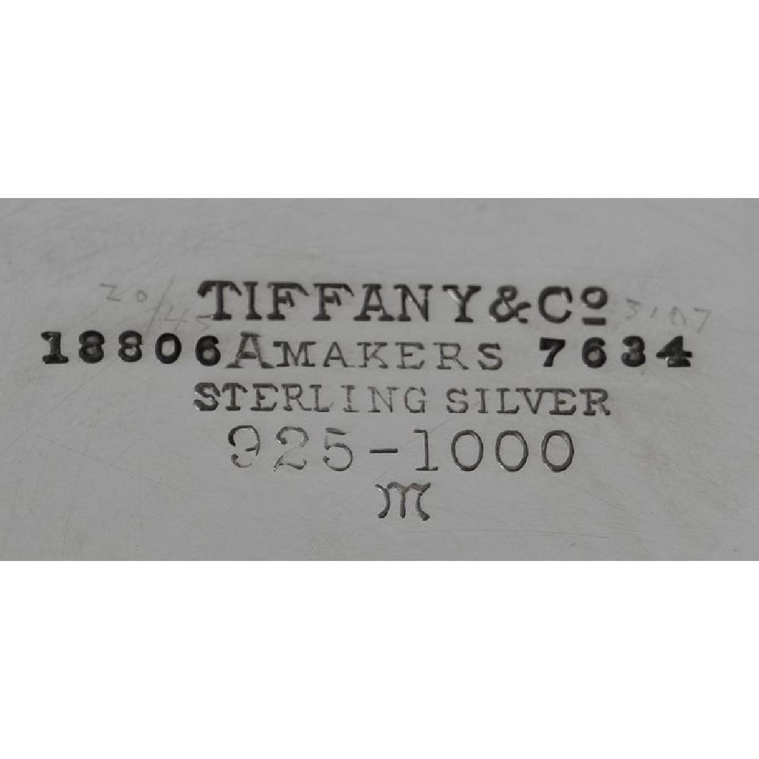 Tiffany Sterling Lidded Box - 5