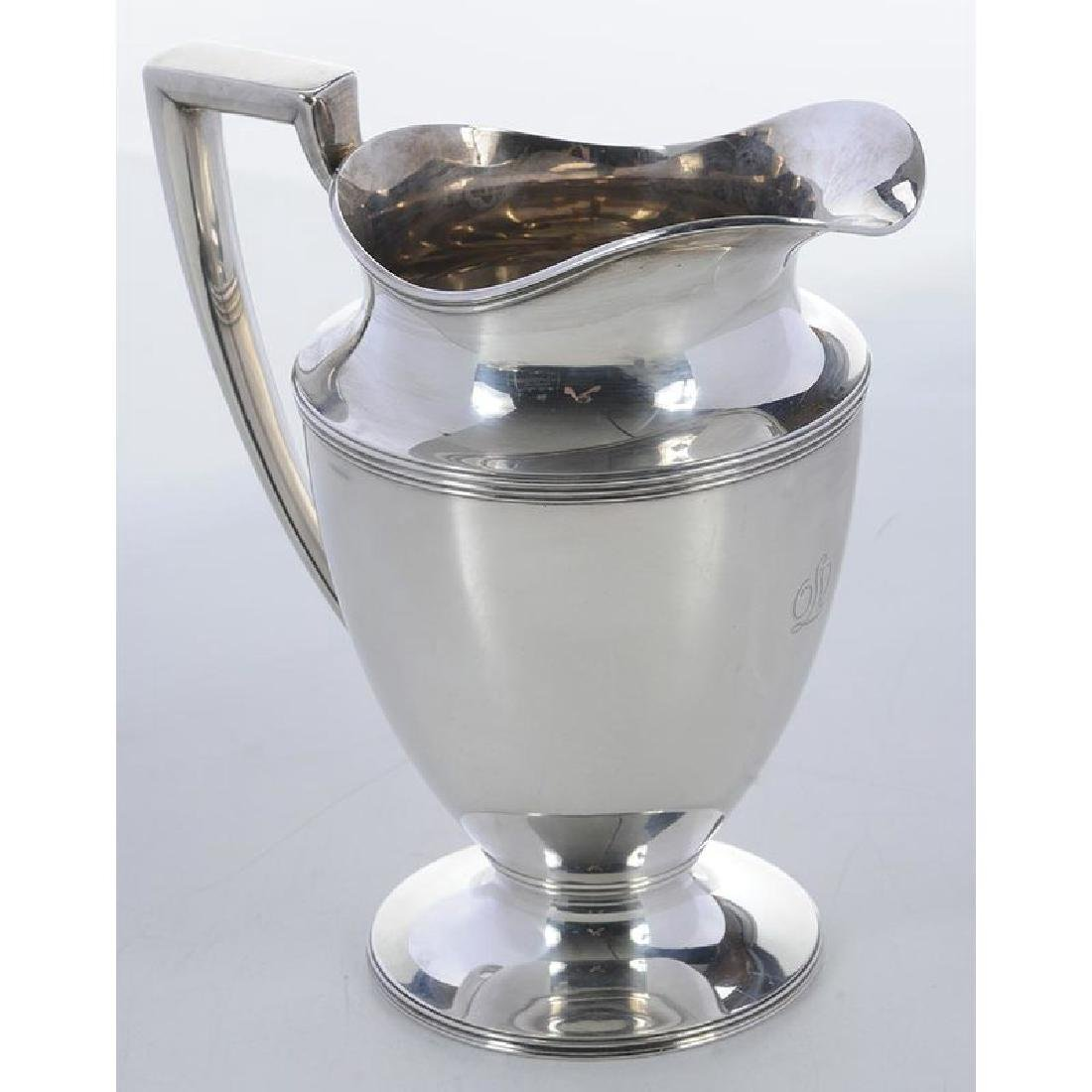 Tiffany Sterling Water Pitcher - 2