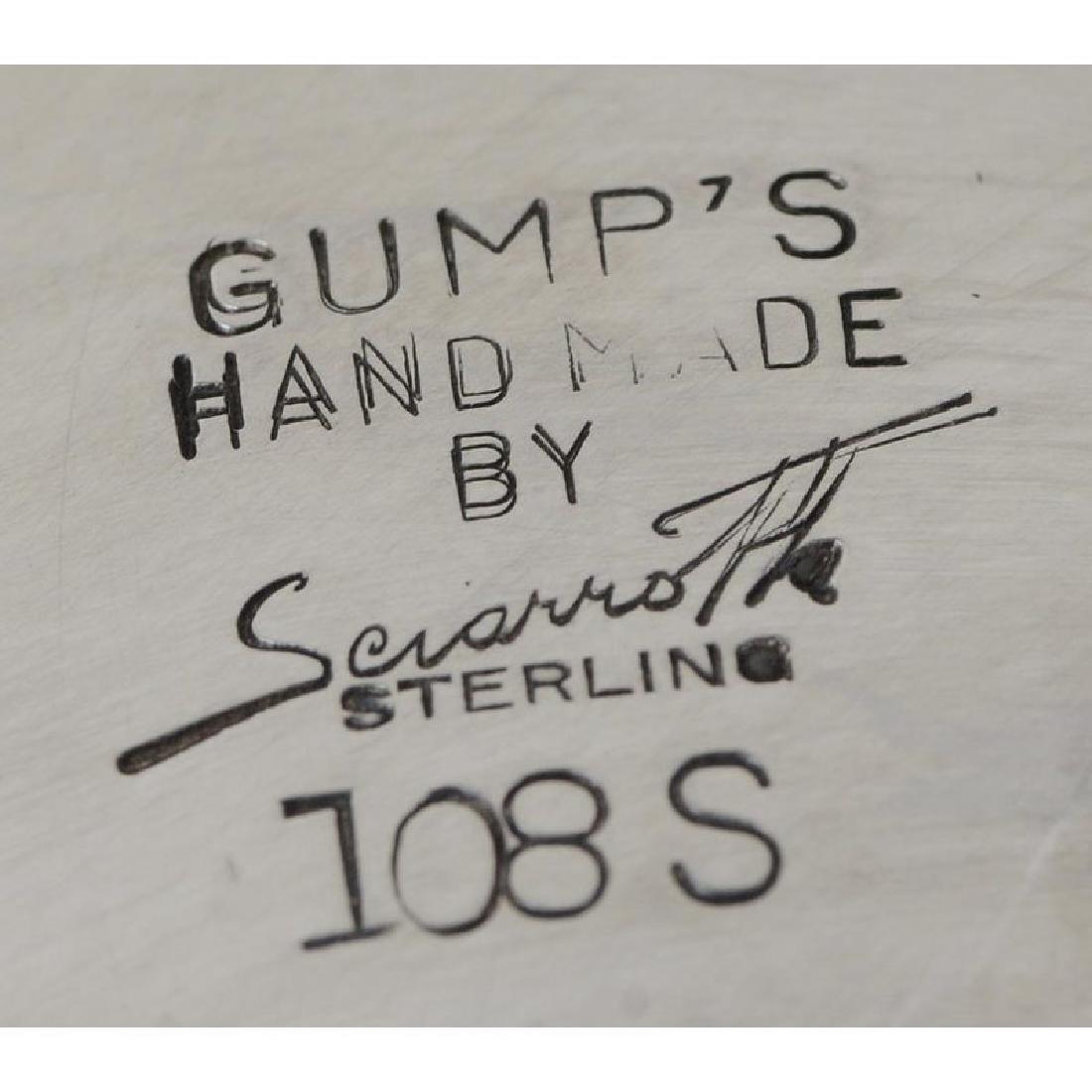 Gumps Sterling Bowl - 4