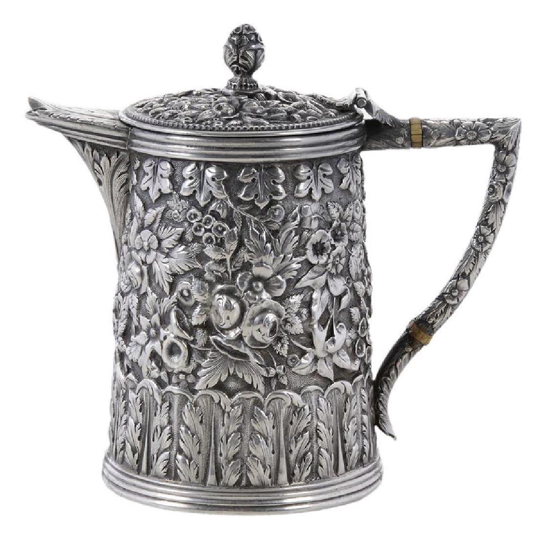 Kirk Coin Silver Individual Teapot
