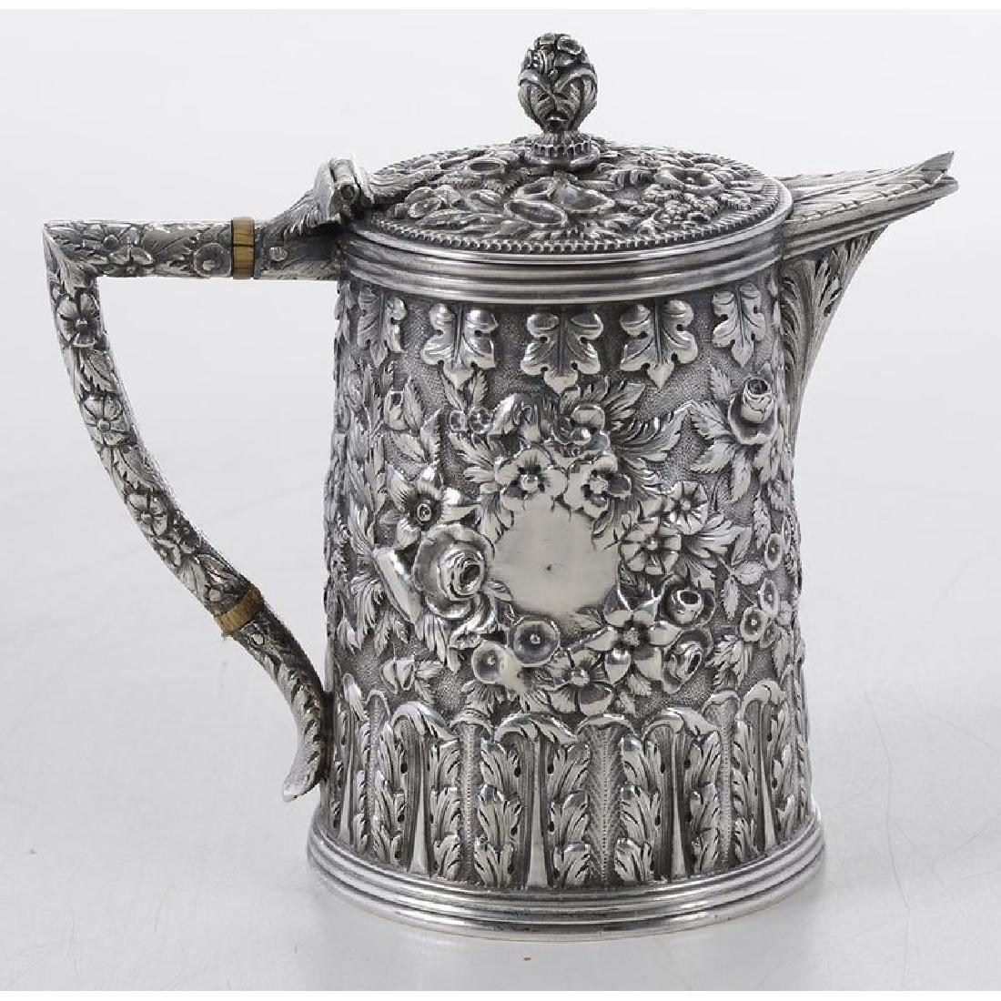 Kirk Coin Silver Individual Teapot - 2