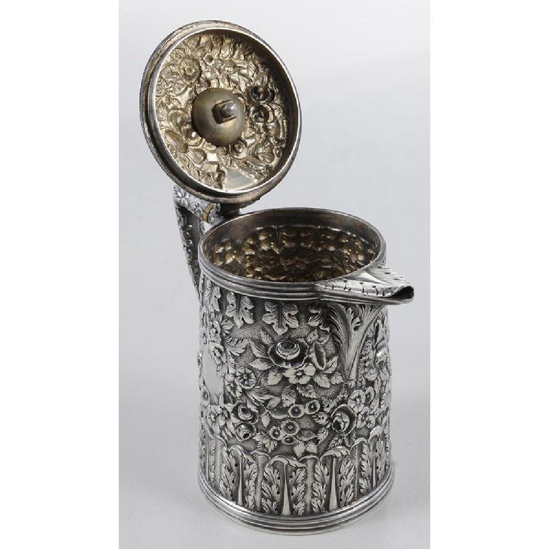 Kirk Coin Silver Individual Teapot - 3