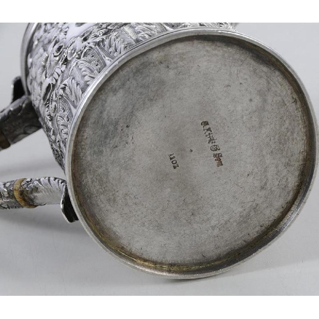 Kirk Coin Silver Individual Teapot - 4
