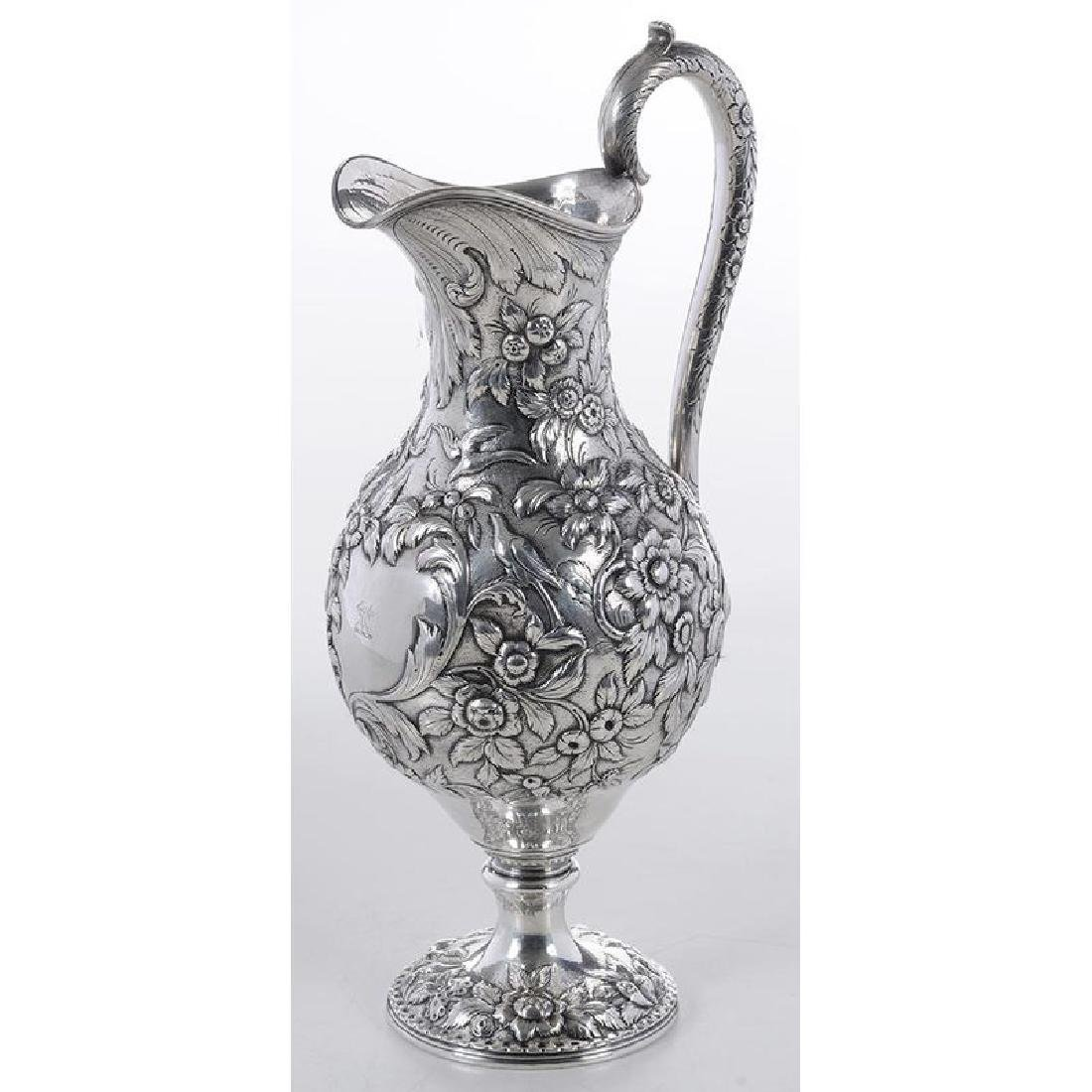 Kirk Coin Silver Pitcher - 4