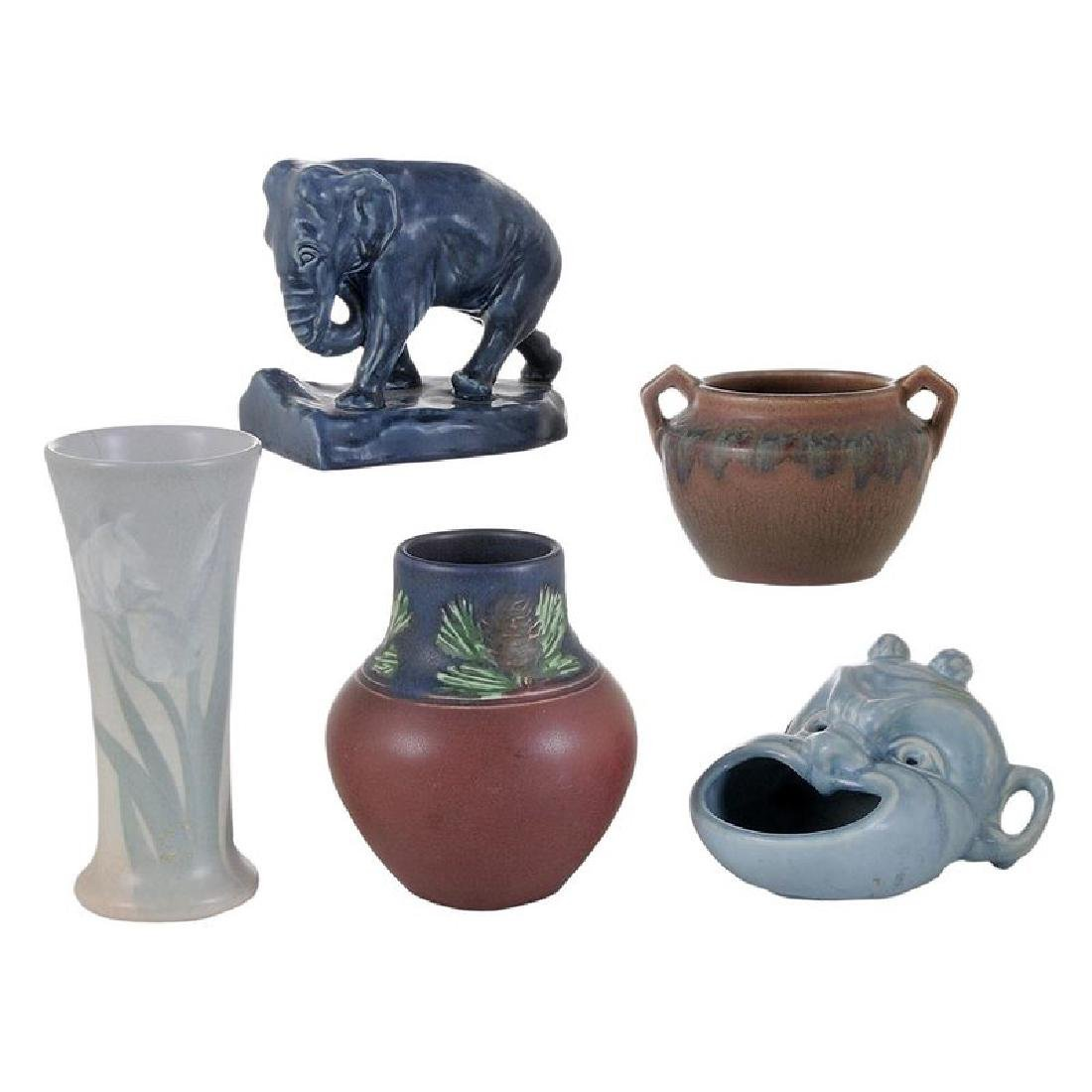 Five Rookwood Pottery Articles