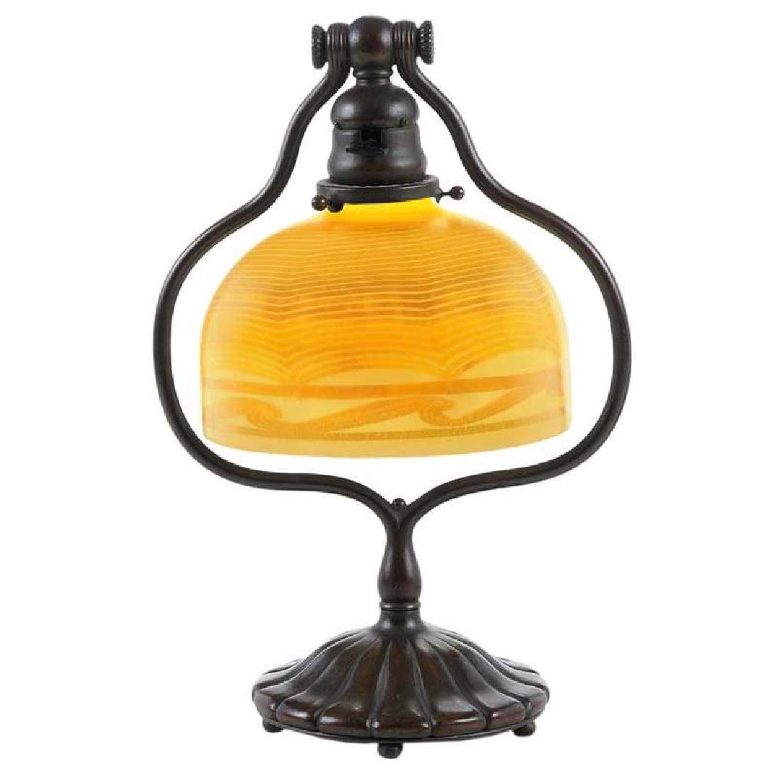 Tiffany Desk Lamp With Favrile Shade