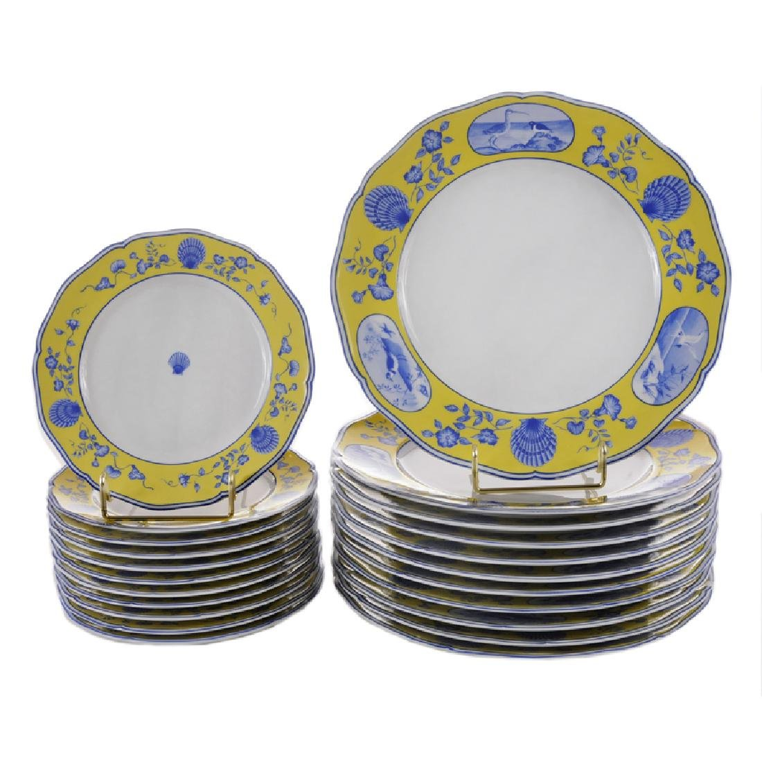 Twenty Two Pieces Costa Azzura Plates