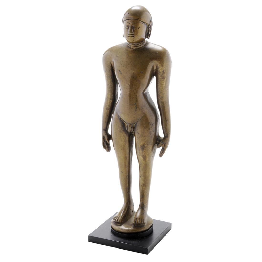 Indian Bronze Figure Of A Jina