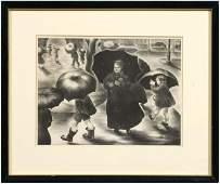 150: Alice Harold Murphy lithograph,