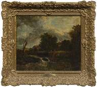 360: Painting manner of Constable,