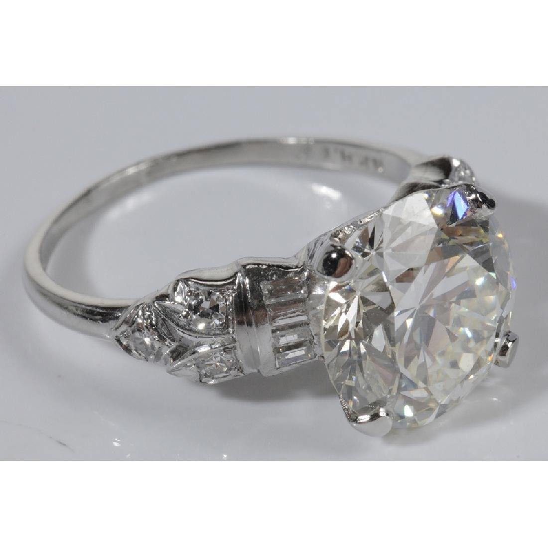 Platinum & Diamond Ring* - 3