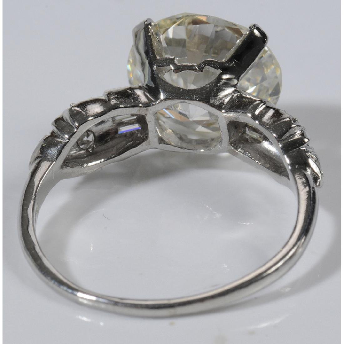 Platinum & Diamond Ring* - 5
