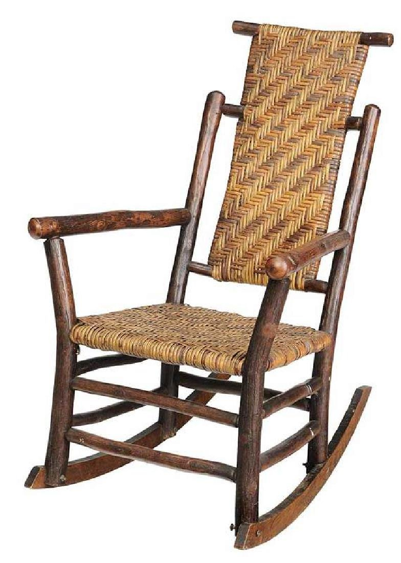 Old Hickory Rustic Rocking Chair
