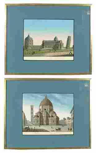 Two European 19th century prints,