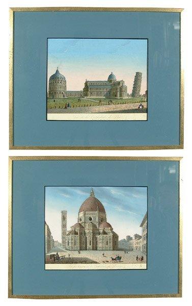 9: Two European 19th century prints,