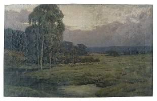 Landscape by Frank P. Freyburg