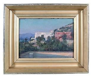 View of Capri by Susan Watkins, ANA