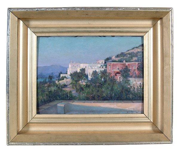 21: View of Capri by Susan Watkins, ANA