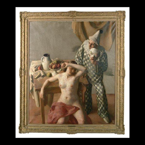 447: Painting by Robert Brackman