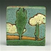 458: Grueby landscape tile,