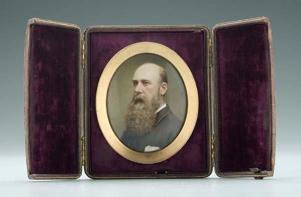 177: Miniature portrait, S.C. & B. Maguire,