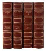 Leather-Bound Victor Hugo Set, Ten Volumes